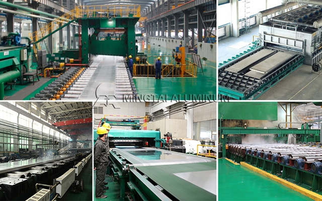 Mingtai 5086 Aluminum Sheet Suppliers Deliver Goods Safely