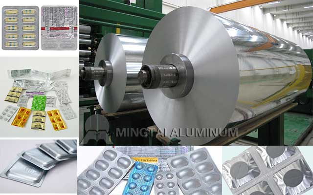 Pharmaceutical Foil Factory China for Blister/ Strip/ Vial Seals