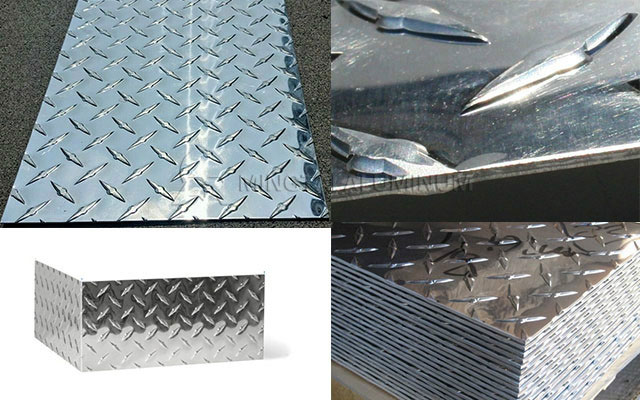 161 Tons 1100 Aluminum Diamond Plate to Mexico